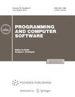 Programming and Computer Software 4/2019