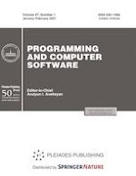 Programming and Computer Software 1/2021