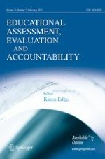 Educational Assessment, Evaluation and Accountability 1/2013