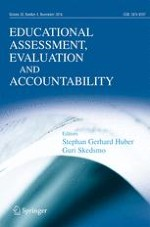 Educational Assessment, Evaluation and Accountability 4/2016
