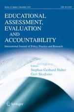Educational Assessment, Evaluation and Accountability 4/2018