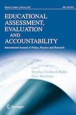 Educational Assessment, Evaluation and Accountability 1/2019