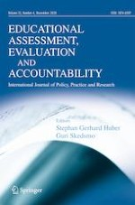 Educational Assessment, Evaluation and Accountability 4/2020