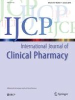 International Journal of Clinical Pharmacy 5/2001