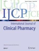 International Journal of Clinical Pharmacy 6/2001