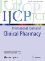 International Journal of Clinical Pharmacy 6/2013