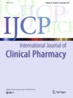 International Journal of Clinical Pharmacy 6/2017
