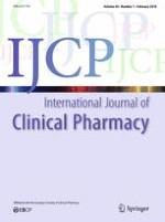 International Journal of Clinical Pharmacy 1/2018