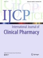 International Journal of Clinical Pharmacy 6/2018