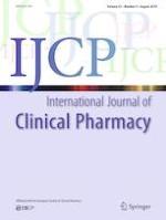 International Journal of Clinical Pharmacy 4/2019