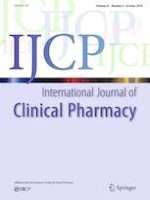 International Journal of Clinical Pharmacy 5/2019