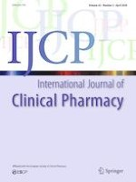 International Journal of Clinical Pharmacy 2/2020