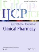 International Journal of Clinical Pharmacy 6/2020