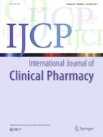 International Journal of Clinical Pharmacy 5/2021