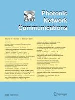 Photonic Network Communications 1/2019