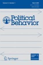 Political Behavior 1/2009