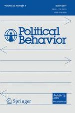 Political Behavior 1/2011