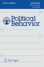 Political Behavior 4/2019
