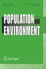 Population and Environment 2/2013