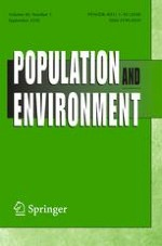 Population and Environment 1/2018