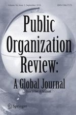 Public Organization Review 3/2016