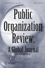 Public Organization Review 2/2018