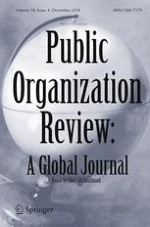 Public Organization Review 4/2018