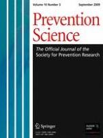 Prevention Science 3/2009