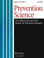 Prevention Science 5/2016