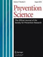 Prevention Science 6/2016