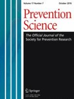Prevention Science 7/2016