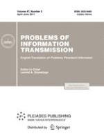 Problems of Information Transmission 2/2011