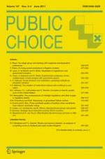 Public Choice 3-4/2011