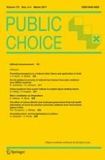 Public Choice 3-4/2017