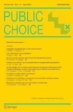 Public Choice 1-2/2020