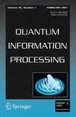 Quantum Information Processing 1/2011