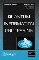 Quantum Information Processing 1/2013