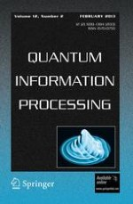 Quantum Information Processing 2/2013