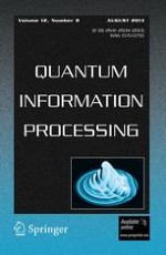 Quantum Information Processing 8/2013