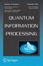 Quantum Information Processing 1/2014