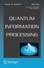 Quantum Information Processing 5/2014