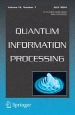 Quantum Information Processing 7/2014