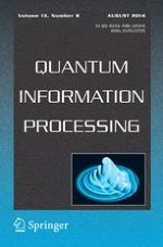 Quantum Information Processing 8/2014