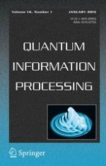 Quantum Information Processing 1/2015