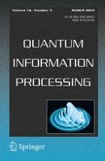 Quantum Information Processing 3/2015