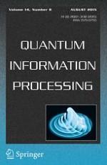Quantum Information Processing 8/2015