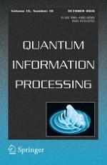 Quantum Information Processing 10/2016