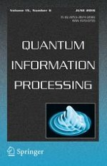 Quantum Information Processing 6/2016