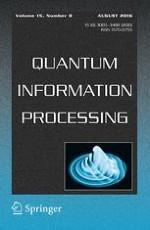 Quantum Information Processing 8/2016