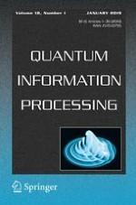 Quantum Information Processing 1/2019